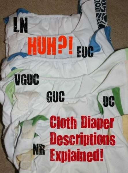 cloth diaper decoded