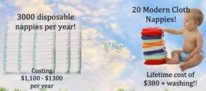 cloth vs disposable