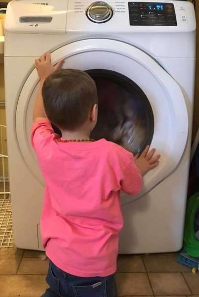 diapers washing