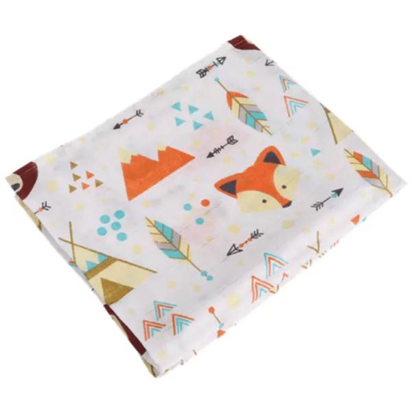 swaddle blanket fox