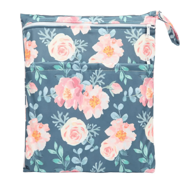 travel wetbag flowers