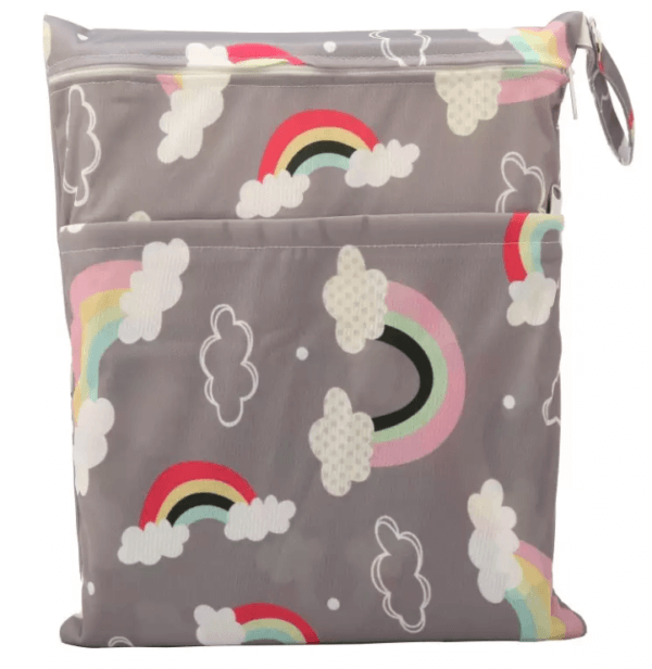 travel wetbag rainbow
