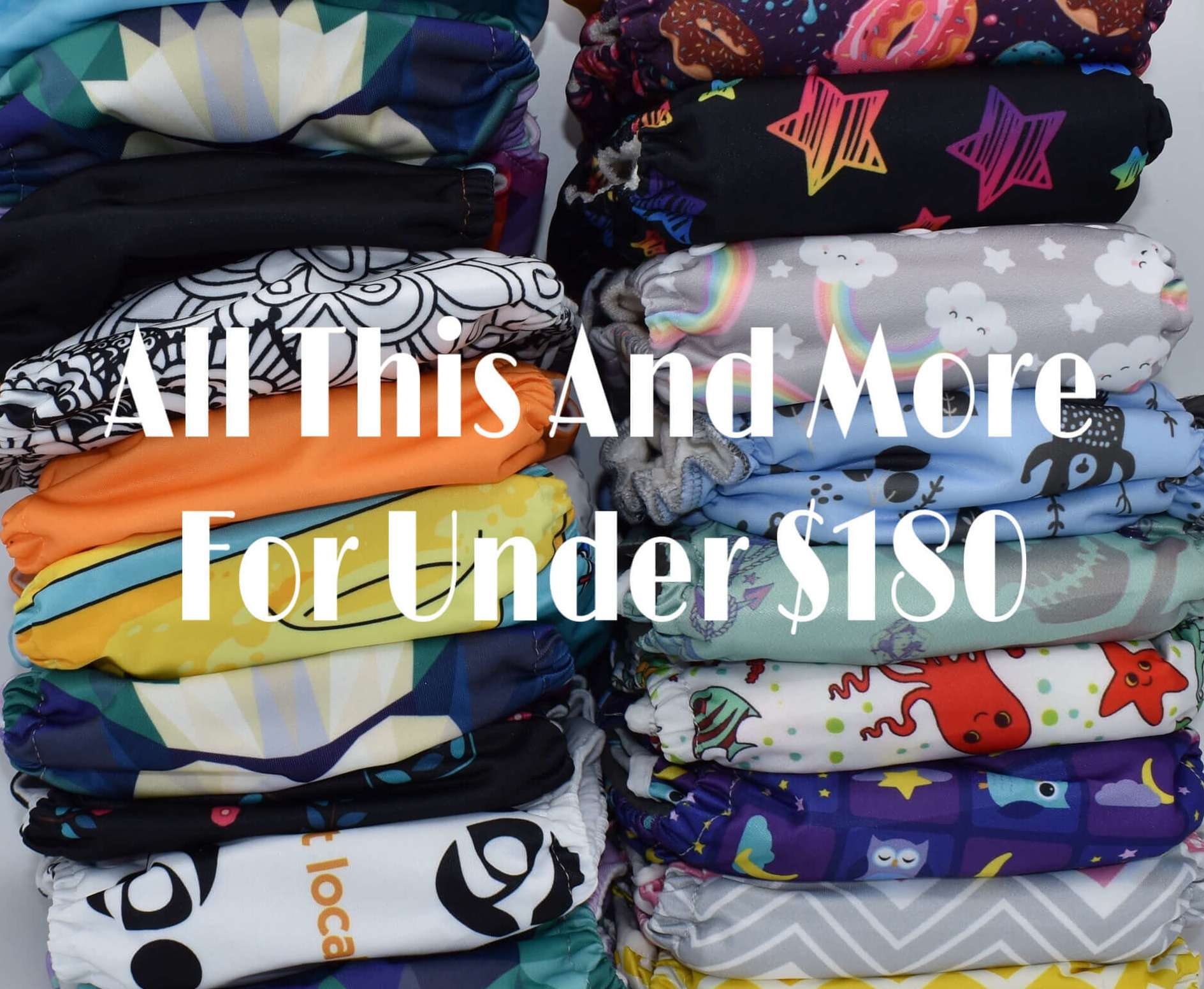 cloth diapers on a budget